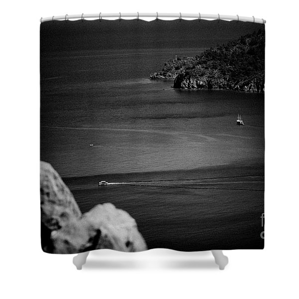 Seascape Turkey Artmif Shower Curtain