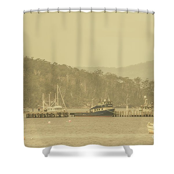 Seascapes Of Old Shower Curtain