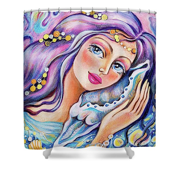 Seashell Reverie Shower Curtain