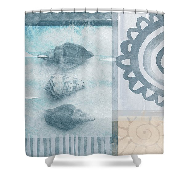 Seashells 2 Shower Curtain