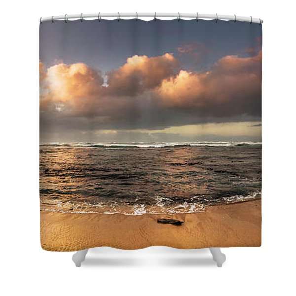 Seashore Splendour Shower Curtain