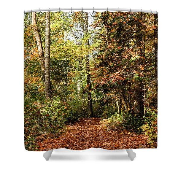Seasonal Change Shower Curtain