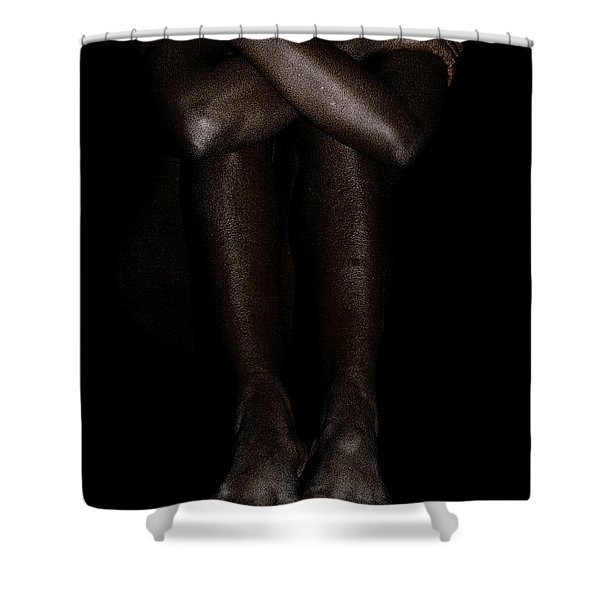 Seated Woman 2 Shower Curtain