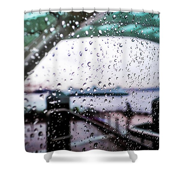 Seattle Drippin Shower Curtain