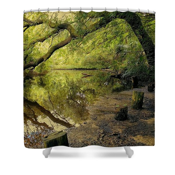 Secluded Sanctuary Shower Curtain