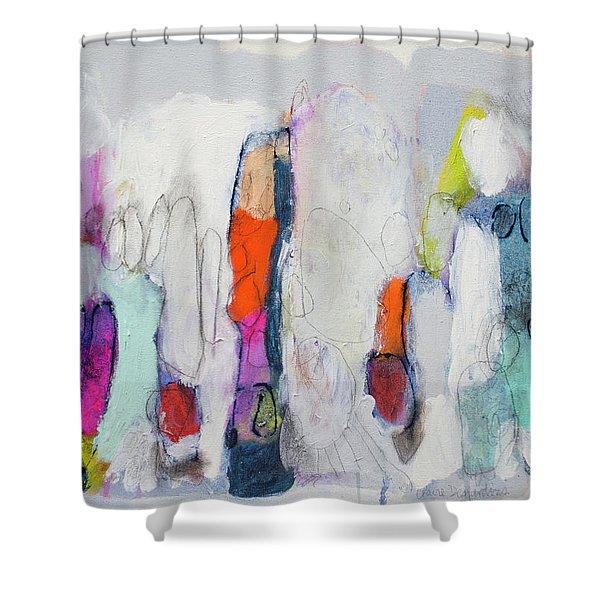 Secret Admirer Shower Curtain