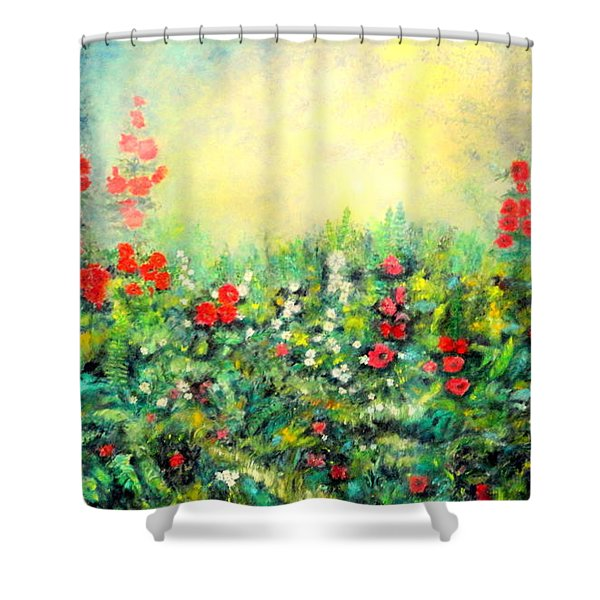 Secret Garden 2 - 150x90 Cm Shower Curtain