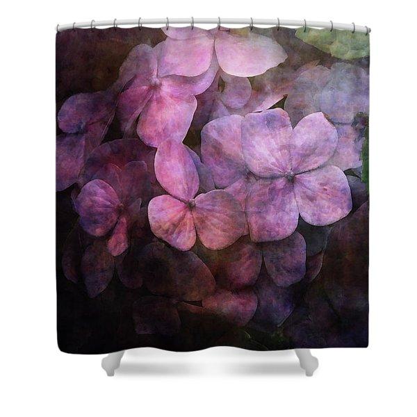 Secret Hydrangea 1538 Idp_2 Shower Curtain