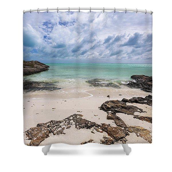 Secret Of West Harbour Shower Curtain