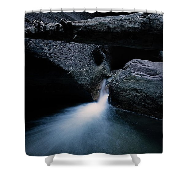 Secret Stream Shower Curtain