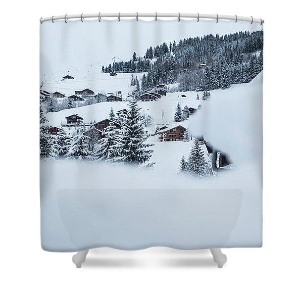 Secret View- Shower Curtain