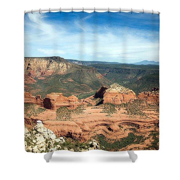 Sedona, Arizona Shower Curtain