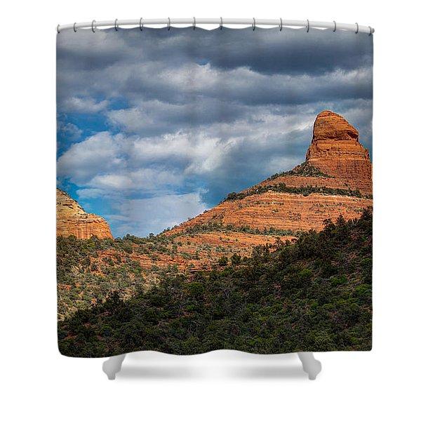 Sedona Cloudy Day Shower Curtain