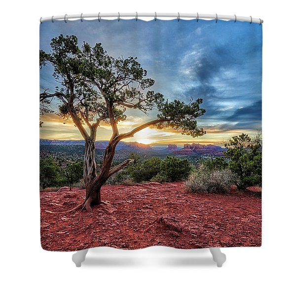 Sedona In The Morning Shower Curtain