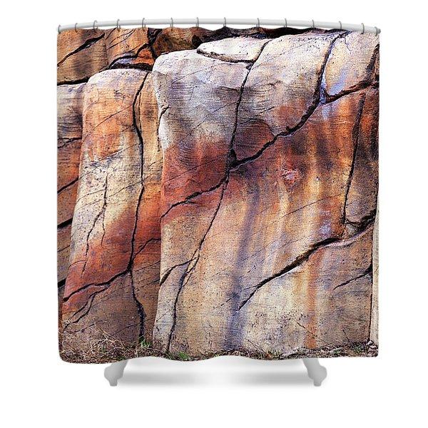 Sedona Red Rocks Profile II Shower Curtain