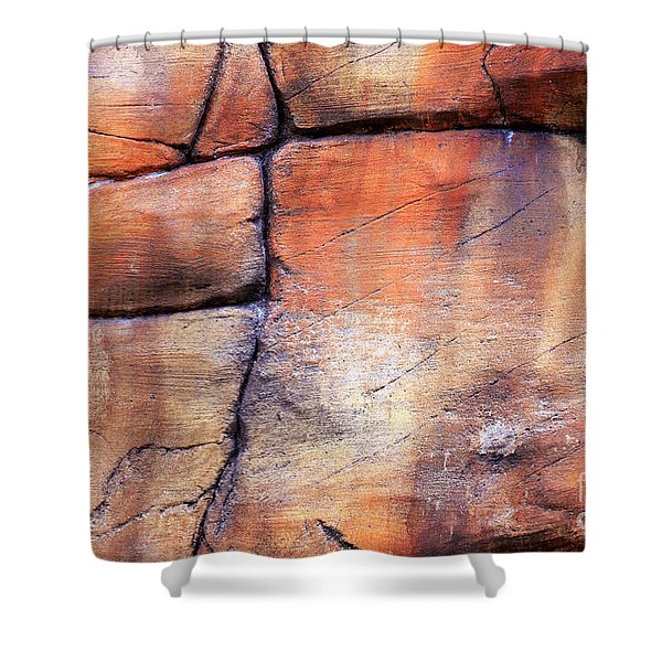 Sedona Red Rocks Profile IIi Shower Curtain