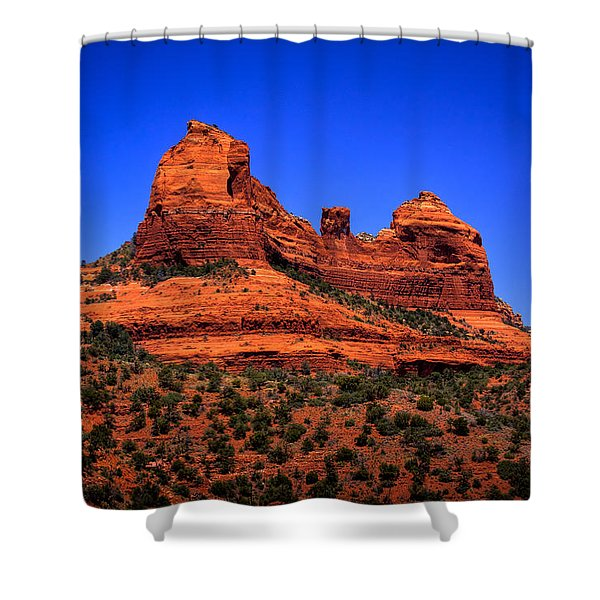 Sedona Rock Formations Shower Curtain
