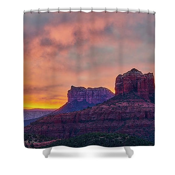 Sedona Sunrise Shower Curtain