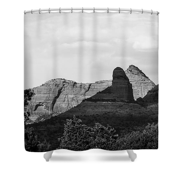 Sedona To The North Shower Curtain