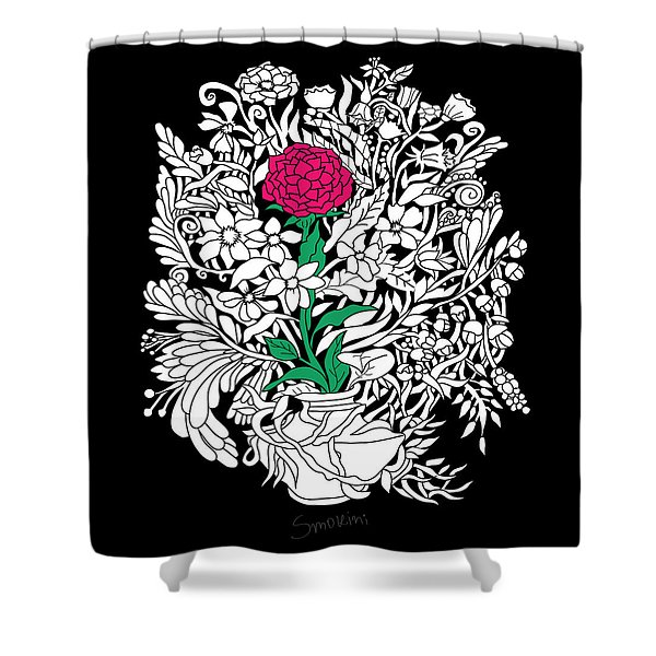 See Only Me Shower Curtain