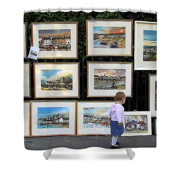 1500 Images Of Ireland........... Buy One A Year And  You Will Have A Starter Collection In 5 Years. Shower Curtain