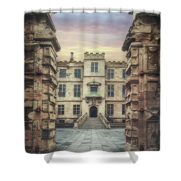 See Through Time Shower Curtain
