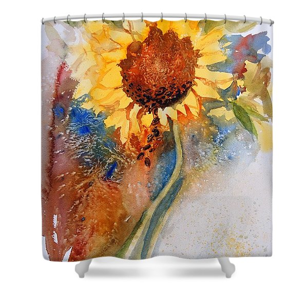 Seeds Of The Sun Shower Curtain