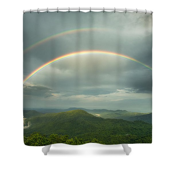 Seeing Double 2 Shower Curtain