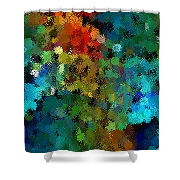 Seeing In The Rain Shower Curtain