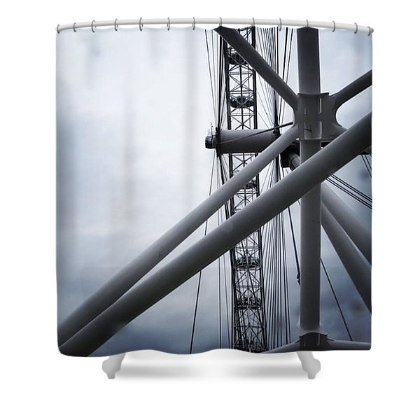 Seeing The Eye Shower Curtain