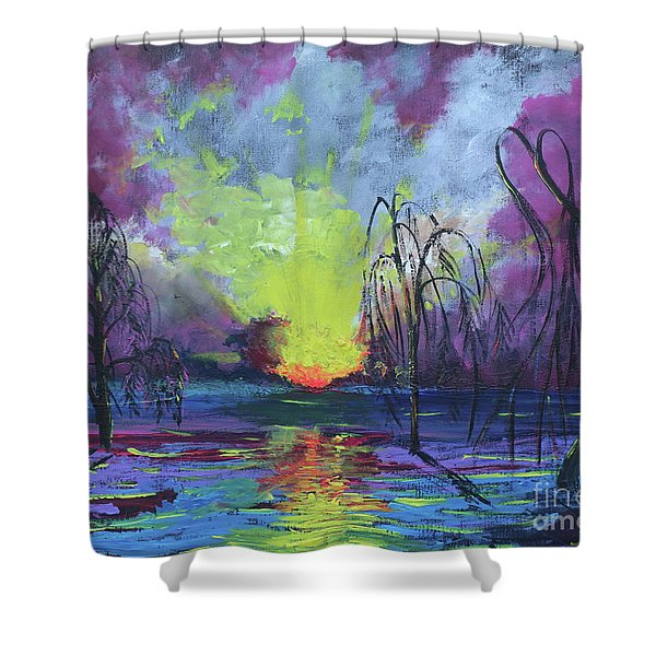 Seeing Through The Truth Shower Curtain