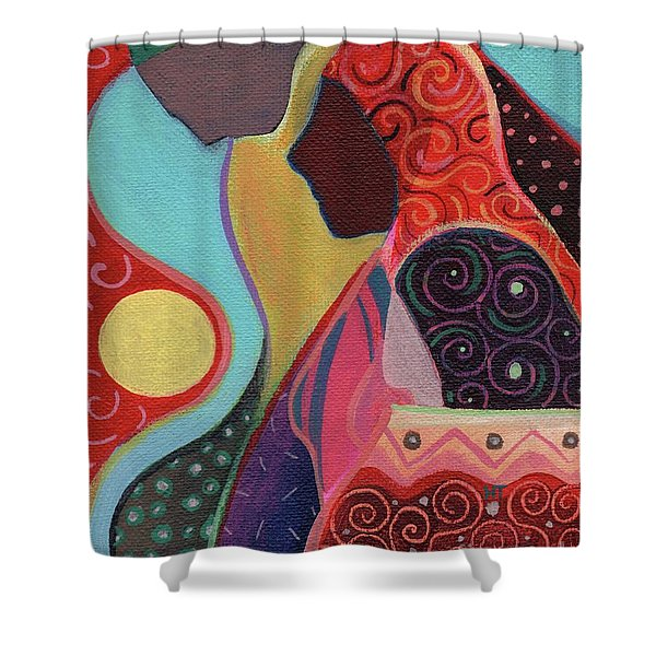 Seeking Shelter Shower Curtain