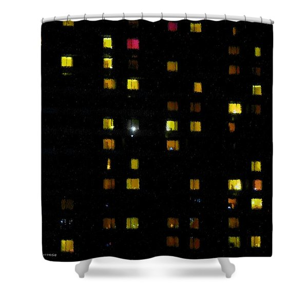 Seen And Unseen Shower Curtain
