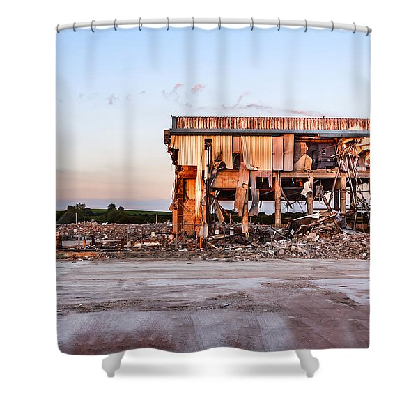 Shower Curtain featuring the photograph Seen Better Days by Nick Bywater