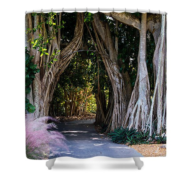 Selby Secret Garden 2 Shower Curtain
