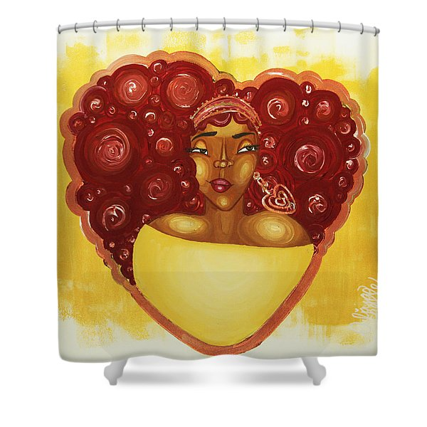 Self Love Shower Curtain