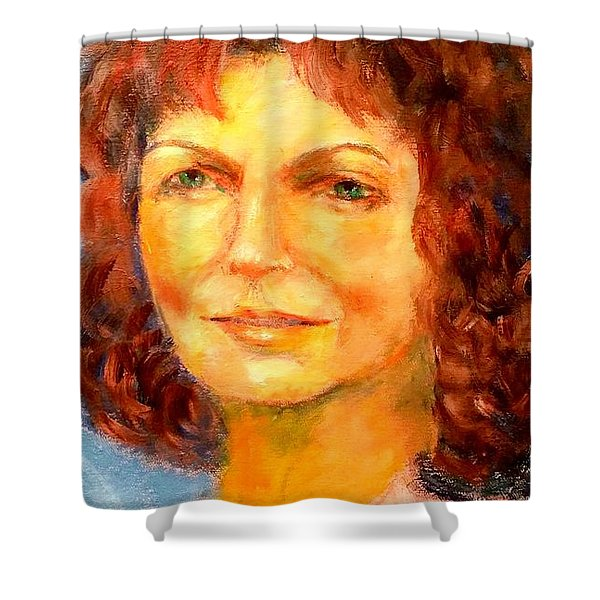 Selfportrait 2018 Shower Curtain