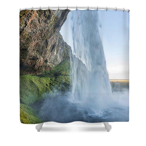 Seljalandsfoss Shower Curtain