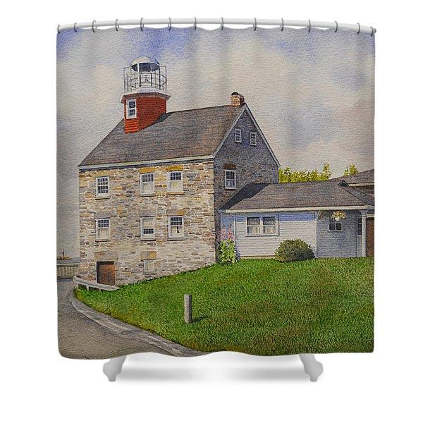 Selkirk Lighthouse Shower Curtain