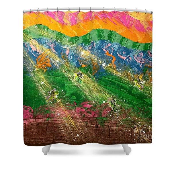 Sending Some Sonshine Shower Curtain
