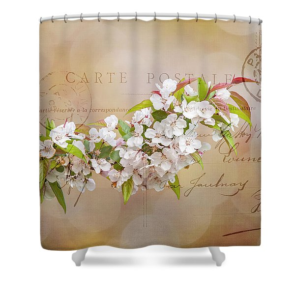 Sending Spring Shower Curtain