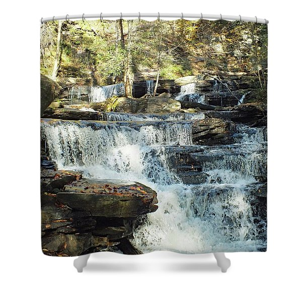 Delaware 5 - Ricketts Glen Shower Curtain