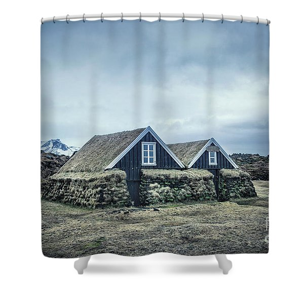 Sentiments Of A Native Village Shower Curtain