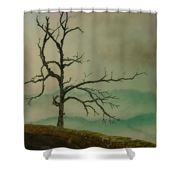 Sentinel Of The Shenandoah  Shower Curtain