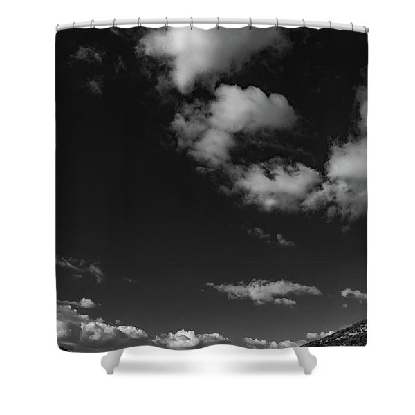 Sentinel's Expanse Shower Curtain