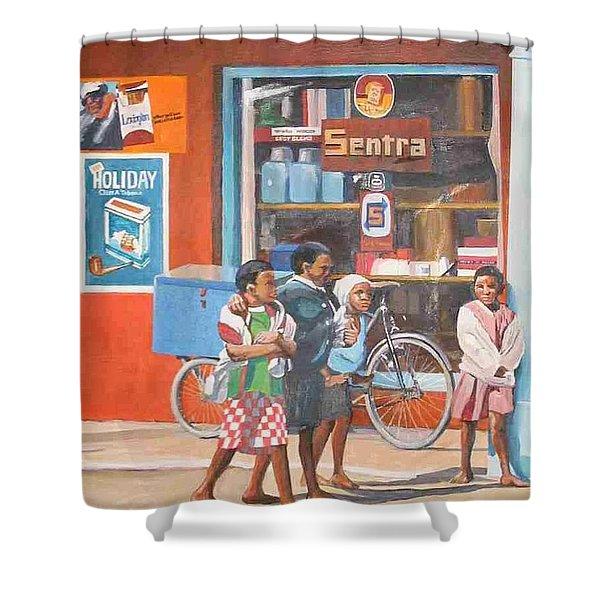 Sentra Shower Curtain