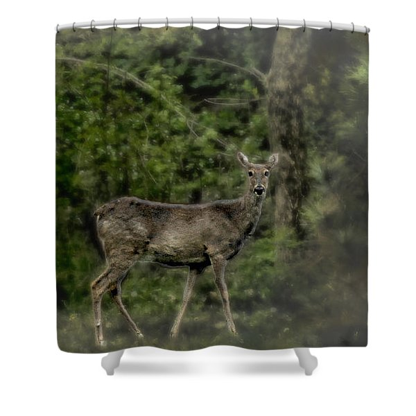 Separated And Diseased Shower Curtain