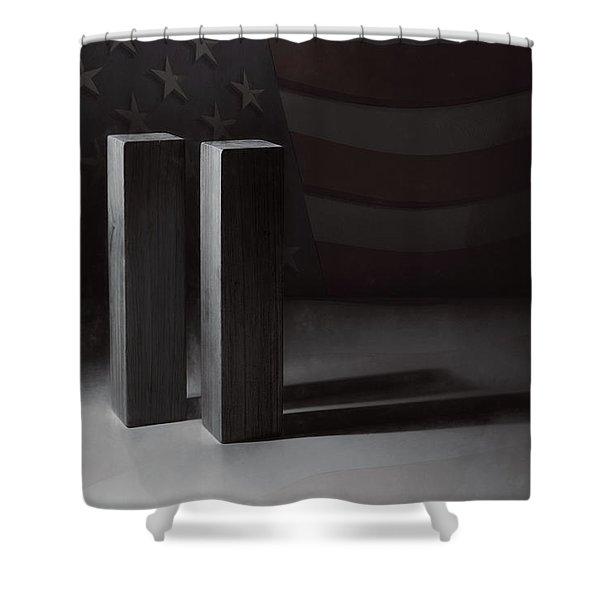 September 11, 2001 -  Never Forget Shower Curtain