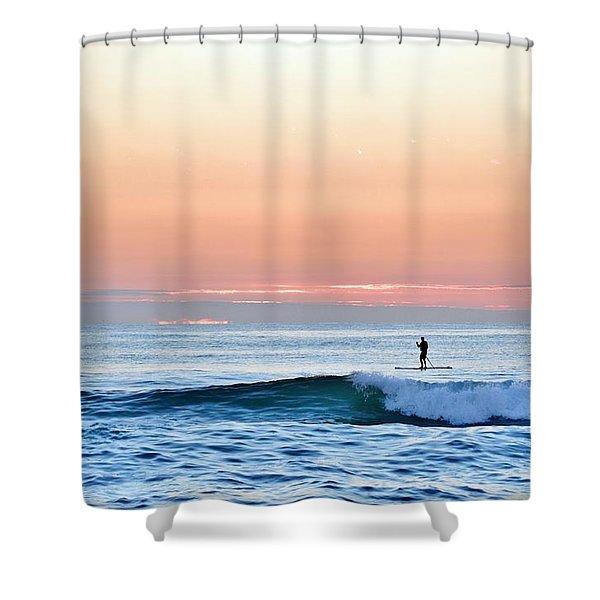 September 14 Sunrise Shower Curtain