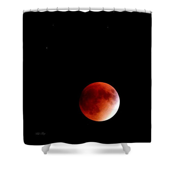 September Bloodmoon 2015 Shower Curtain